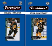 NHL Boston Bruins 2016 Parkhurst Team Set and All-Star Set