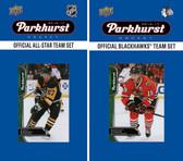 NHL Chicago Blackhawks 2016 Parkhurst Team Set and All-Star Set