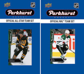 NHL Dallas Stars 2016 Parkhurst Team Set and All-Star Set