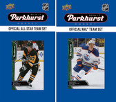 NHL Edmonton Oilers 2016 Parkhurst Team Set and All-Star Set