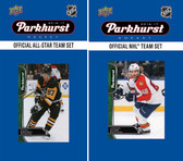 NHL Florida Panthers 2016 Parkhurst Team Set and All-Star Set