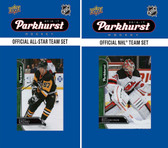 NHL New Jersey Devils 2016 Parkhurst Team Set and All-Star Set