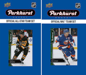 NHL New York Islanders 2016 Parkhurst Team Set and All-Star Set