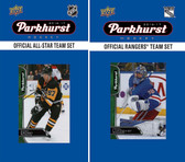 NHL New York Rangers 2016 Parkhurst Team Set and All-Star Set