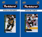 NHL Phoenix Coyotes 2016 Parkhurst Team Set and All-Star Set