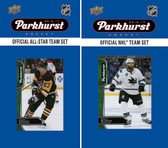 NHL San Jose Sharks 2016 Parkhurst Team Set and All-Star Set