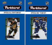 NHL Tampa Bay Lightning 2016 Parkhurst Team Set and All-Star Set