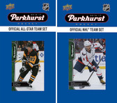 NHL Washington Capitals 2016 Parkhurst Team Set and All-Star Set