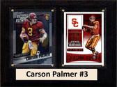 "NCAA 6""X8"" Carson Palmer USC Trojans Two Card Plaque"