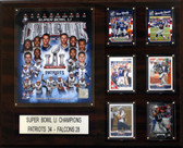"NFL 16""x20"" New England Patriots Super Bowl 51 Champions Plaque"