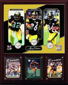"NFL 12""x15"" Bell-Harris-Bettis Pittsburgh Steelers Legacy Collection Plaque"
