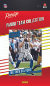 NFL Detroit Lions Licensed 2017 Prestige Team Set.