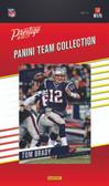 NFL New England Patriots Licensed 2017 Prestige Team Set.
