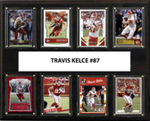 "NFL 12""x15"" Travis Kelce Kansas City Chiefs 8-Card Plaque"