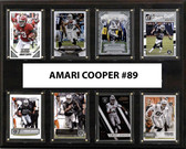 "NFL 12""x15"" Amari Cooper Oakland Raiders 8-Card Plaque"