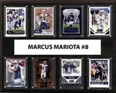 """NFL 12""""x15"""" Marcus Mariota Tennessee Titans 8-Card Plaque"""