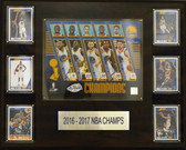 "NBA 16""x20"" Golden State Warriors 2016-2017 NBA Champions Plaque"