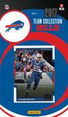 NFL Buffalo Bills Licensed 2017 Donruss Team Set.