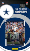 NFL Dallas Cowboys Licensed 2017 Donruss Team Set.