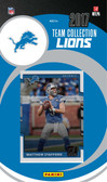 NFL Detroit Lions Licensed 2017 Donruss Team Set.