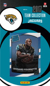 NFL Jacksonville Jaguars Licensed 2017 Donruss Team Set.