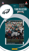 NFL Philadelphia Eagles Licensed 2017 Donruss Team Set.