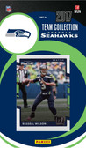 NFL Seattle Seahawks Licensed 2017 Donruss Team Set.