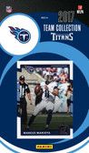 NFL Tennessee Titans Licensed 2017 Donruss Team Set.