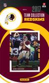 NFL Washington Redskins Licensed 2017 Donruss Team Set.