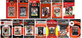 Cincinnati Bengals13 Different Licensed Trading Card Team Sets