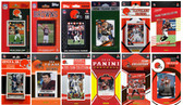 Cleveland Browns12 Different Licensed Trading Card Team Sets