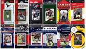 Houston Texans12 Different Licensed Trading Card Team Sets