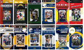 Los Angeles Chargers12 Different Licensed Trading Card Team Sets