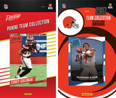 NFL Cleveland Browns Licensed 2017 Panini and Donruss Team Set