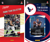 NFL Houston Texans Licensed 2017 Panini and Donruss Team Set