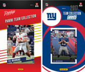 NFL New York Giants Licensed 2017 Panini and Donruss Team Set