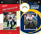 NFL San Diego Chargers Licensed 2017 Panini and Donruss Team Set
