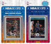 NBA Charlotte Hornets Licensed 2017-18 Hoops Team Set Plus 2017-18 Hoops All-Star Set