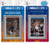 NBA Dallas Mavericks Licensed 2017-18 Hoops Team Set Plus 2017-18 Hoops All-Star Set