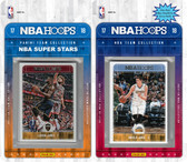 NBA Denver Nuggets Licensed 2017-18 Hoops Team Set Plus 2017-18 Hoops All-Star Set