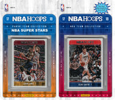 NBA Atlanta Hawks Licensed 2017-18 Hoops Team Set Plus 2017-18 Hoops All-Star Set