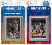 NBA Miami Heat Licensed 2017-18 Hoops Team Set Plus 2017-18 Hoops All-Star Set
