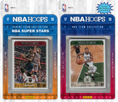 NBA Milwaukee Bucks Licensed 2017-18 Hoops Team Set Plus 2017-18 Hoops All-Star Set