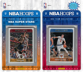 NBA New York Knicks Licensed 2017-18 Hoops Team Set Plus 2017-18 Hoops All-Star Set