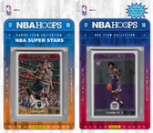 NBA Sacramento Kings Licensed 2017-18 Hoops Team Set Plus 2017-18 Hoops All-Star Set