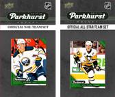 NHL Buffalo Sabres 2017 Parkhurst Team Set and All-Star Set