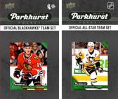 NHL Chicago Blackhawks 2017 Parkhurst Team Set and All-Star Set