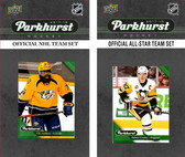 NHL Nashville Predators 2017 Parkhurst Team Set and All-Star Set