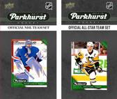 NHL New York Rangers 2017 Parkhurst Team Set and All-Star Set