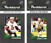 NHL Ottawa Senators 2017 Parkhurst Team Set and All-Star Set